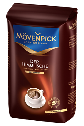 Кофе в зернах Movenpick Der Himmlische, 500г
