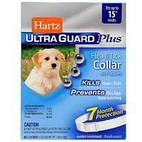 Hartz (Хартц) Ultra Guard Plus ошейник для щенков от блох, яиц блох и клещей (Н96341)