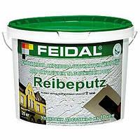 Штукатурка Feidal Reibeputz 2 мм Короед 25 кг