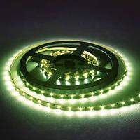 Лента светодиодная FERON LS603/ SANAN LED-RL 60SMD 4.8W/m 12V 5m*8*0.22mm зеленый на белом