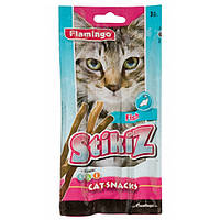 Лакомство Karlie-Flamingo Stikiz Fish для кошек, рыба, 15 г