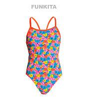 Сдельный купальник для девочек Funkita Lane Rope Love FS16, фото 1