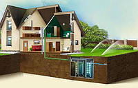 Очистка сточных вод частного домохозяйства
