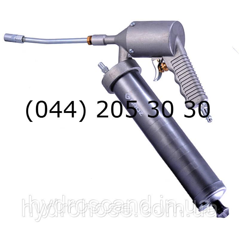 Пневматический плунжерный шприц автоматического типа со стальной 150мм трубкой и соединительной муфтой, 330Бар