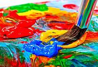 Акриловые художественные краски