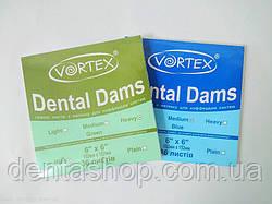 DentalDams -  резиновые листы (платки), Vortex