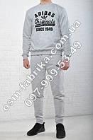 Модный мужской спортивный костюм ADIDAS