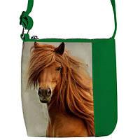 """Сумка детская через плечо IZ с принтом """"лошадь"""", сумки для девочек"""