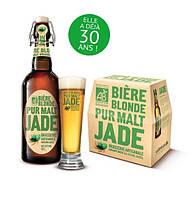 Пиво светлое органическое Jade Malt 12*330 мл