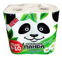 Туалетная бумага Снежная Панда Aroma Эконом - 8 рулонов.