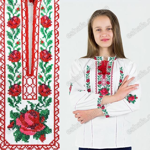 Красивая детская вышиванка