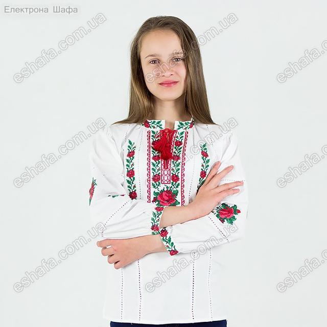 Дитяча вишита сорочка