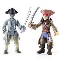 Набор из двух коллекционных фигурок 7,5 см Джек и призрак экипажа The Pirates of Caribbean (SM73101-3)