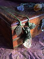 Талисман имени - Оксана, кулон с цитрином.