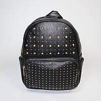 Стильный женский рюкзак черного цвета