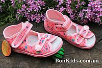 Розовые тапочки на девочку ViGGaMi польская детская обувь р.20,21,22,23,24,25,26,27