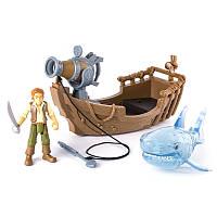 Игровой набор На абордаж The Pirates of Caribbean Генри Тёрнер и акула-призрак (SM73102-1)