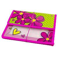 Папка для тетрадей пластиковая «Flowers» 1 Вересня 491212