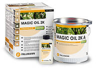 Масло Magic Oil 2K, 2-компонентная масляно-восковая комбинация  1 л., 2.75 л.