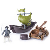 Игровой набор На абордаж The Pirates of Caribbean Лесаро с катапультой (SM73102-2)