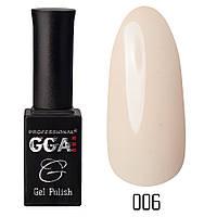 Гель-лак GGA Professional №6 (seashell), 10ml