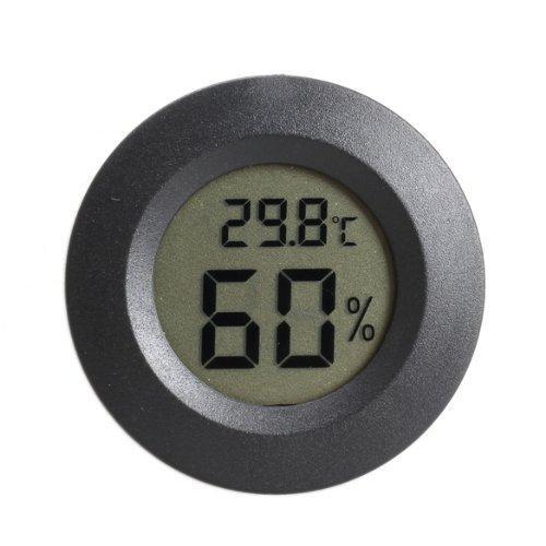 Гигрометр Термометр Влагомер Градусник цифровой #2 Черный