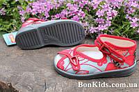 Летние тапочки на девочку Zetpol польская детская обувь р.18,19,20,21,22,23,24,25,26,27