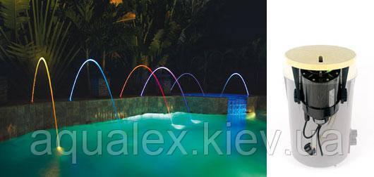 Аттракцион Pentair MagicStream Laminar LED-светящаяся струя LED