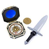 Шпага пирата Джека Воробья с компасом The Pirates of Caribbean (SM73104-2)