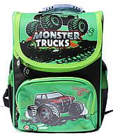 "Ранец ортопедический,каркасный WL-856 ""Monster trucks"", фото 1"