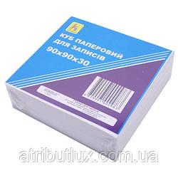 Блок 300 листов 90х90мм белый офсет