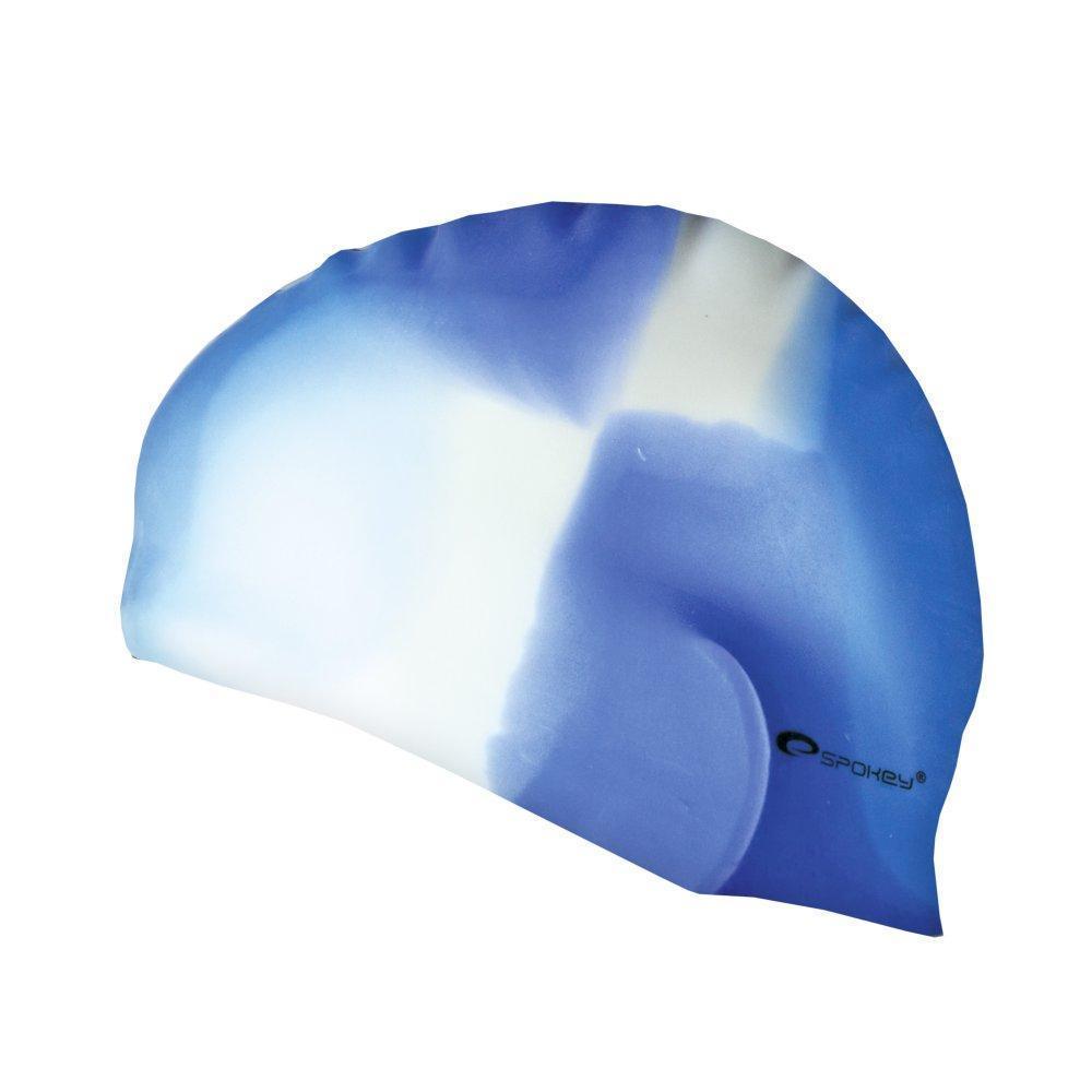 Шапочка для плавания Spokey Abstract (original) для бассейна, силикон взрослая