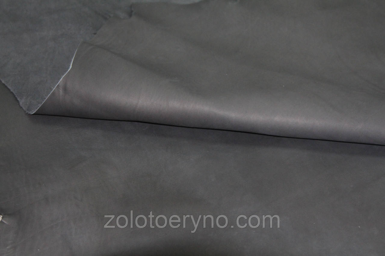 Кожа ВШ Краст 64 2,00мм 171 черный графит