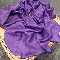 Палантин Chanel вискоза фиолетовый