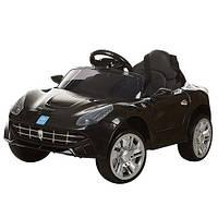 Детский электромобиль M 3176 EBR-2 на мягких EVA колёсах, чёрный