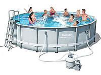 Каркасный бассейн Bestway 56452 с фильтр-насосом (488-122 см)