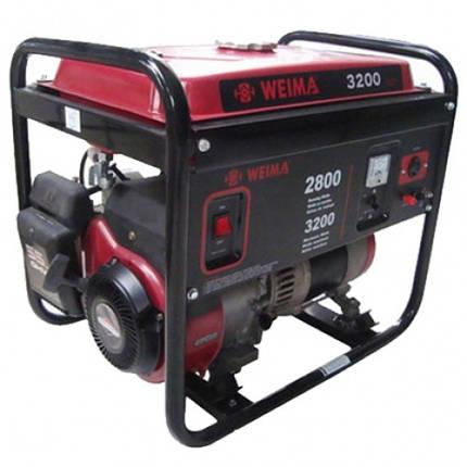 Бензиновый генератор WEIMA WM3200E, бензогенератор 3,2Квт, 1 ФАЗА,  вес 53кг,    Электростарт + БЕСПЛАТНАЯ ДОСТАВКА ПО УКРАИНЕ, фото 2