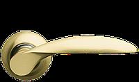 Ручка дверная на розетке Armadillo Diona матовое золото (Китай)