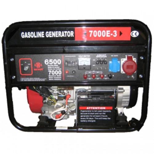 Генератор WEIMA WM7000E б/генератор 7,0Квт, 3ФАЗЫ,вес 98кг,двиг.WM190FE -16л.с. + БЕСПЛАТНАЯ ДОСТАВКА ПО УКРАИНЕ