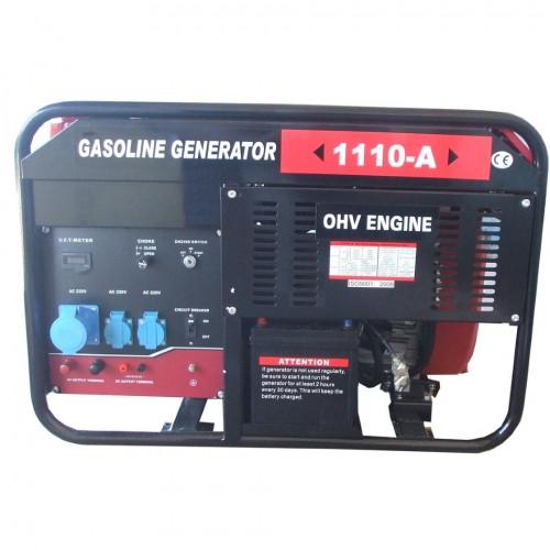 Бензиновый генератор WEIMA WM1110-A, ATS б/генератор 9,5Квт, 1ФАЗА ,вес 175кг,двиг.WM2V78F-20л.с. + БЕСПЛАТНАЯ ДОСТАВКА ПО УКРАИНЕ