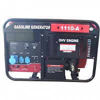 Бензиновый генератор WEIMA WM1110-A, ATS б/генератор 9,5Квт, 1ФАЗА ,вес 175кг,двиг.WM2V78F-20л.с.