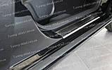 Накладки на пороги Ford Mondeo 4 (накладки порогов Форд Мондео 4), фото 6