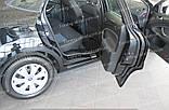 Накладки на пороги Ford Mondeo 4 (накладки порогов Форд Мондео 4), фото 8