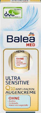 Крем Balea med ultra sensitive вокруг глаз для чувствительной кожи 15мл, фото 2