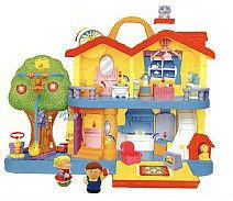 Игровой набор - ЗАГОРОДНЫЙ ДОМ (свет, звук) от Kiddieland - preschool - под заказ