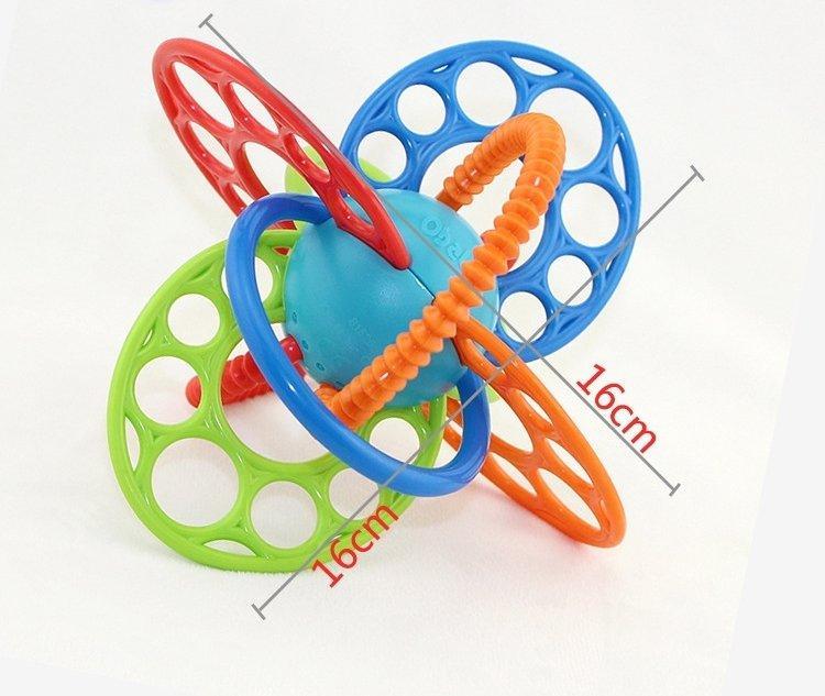 Прорезыватель, грызун OBall Flexi Loops Teething Toy