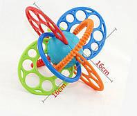 Прорезыватель, грызун OBall Flexi Loops Teething Toy, фото 1