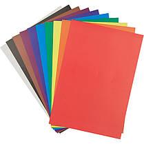 Картон цветной односторонний Kite K17-1255, 10 листов, фото 3