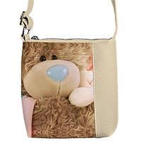 """Сумка детская через плечо SBR с принтом """"мягкая игрушка"""", сумки для девочек"""