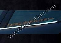 Нижние молдинги стекол Omsa на Mercedes E W211 2002-2009